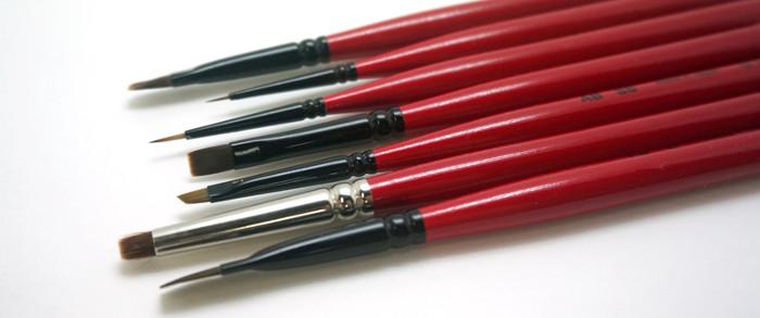 ネイル用品「筆」の種類って?